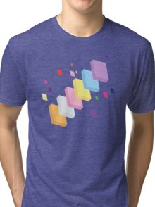 My Little Pony - Mane Six Abstraction II Tri-blend T-Shirt