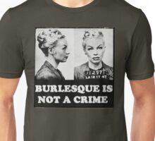 Burlesque Mugshot Unisex T-Shirt