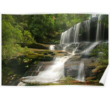 Lower Somersby Falls .. glowing Poster