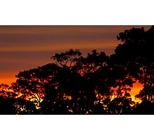 GRAB YOUR CAMERA....COME AND SEE THE SUNSET Photographic Print