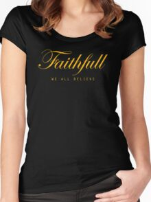 Faithfull Women's Fitted Scoop T-Shirt