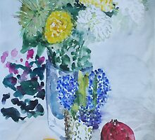 Feast of Flowers and Fruits by Dmitri Matkovsky