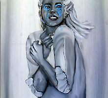Blue tears - las lágrimas azules by shearart
