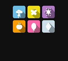 My Little Pony - Mane Six Flat Icons 2.0 Unisex T-Shirt