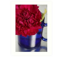 Flower Cup Art Print