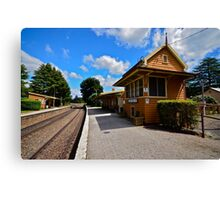 Exeter Station. Canvas Print