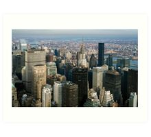 Midtown Manhattan Art Print
