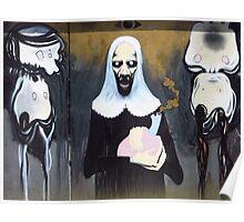 Alien Nun Poster