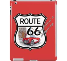 Route 66 vintage stylist america highway gifts iPad Case/Skin