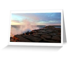Point Judith Fishing Jetty  Greeting Card