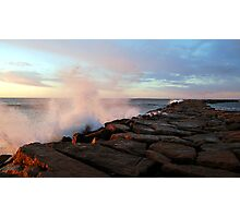 Point Judith Fishing Jetty  Photographic Print