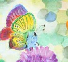 Bokeh Butterfly Sticker