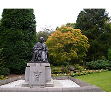 Joseph Lister looking over to Glasgow University Photographic Print