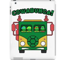 Cowabunga Party Wagon! iPad Case/Skin