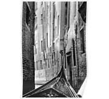 Back Street Gondola Poster