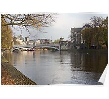 River Ouse, York Poster