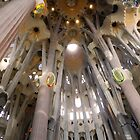 Sagrada Familia Vault over the Altar, Barcelona by Sue Ballyn