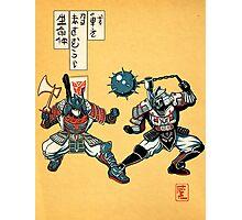 Tatakae Chou Samurai Seimeitai! Photographic Print