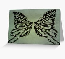 Original World Butterfly By LW Greeting Card