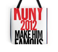 KONY - Make him famous Tote Bag