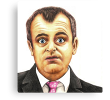 Characters of Coronation Street : Steve McDonald Canvas Print