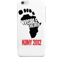 Invisible Children iPhone Case/Skin