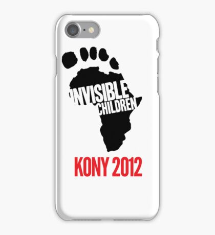 Invisible Children iPhone Case/Skin