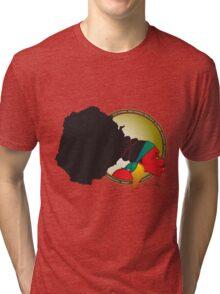 Unpacking Adjectives Tri-blend T-Shirt