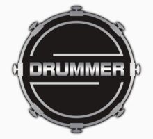 Drummer Silver Kids Clothes
