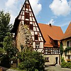 Schlenzger Haus in Spalt, Franconia, Germany. by David A. L. Davies