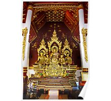 Chaing Mai Temples 1 Poster