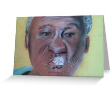 DR.BILL COSBY Greeting Card