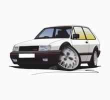 VW Polo (Mk3) G40 White by Richard Yeomans