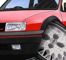 VW Polo (Mk3) G40 Red Sticker