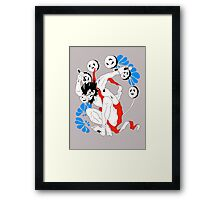 Raiden thunder god Framed Print
