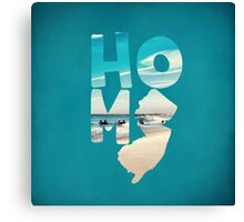 Home: New Jersey Canvas Print