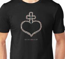 DXR-CROSSHEART Patch Unisex T-Shirt