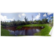 Spittal Pond Panorama Poster