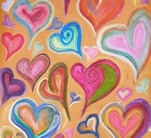 Hearts 1 by michellefoster