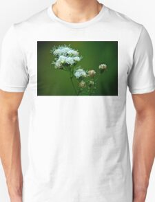White flower T-Shirt