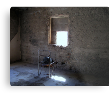 Looking out the Window... Metal Print