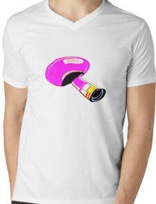 T-shirt mushroom Mens V-Neck T-Shirt