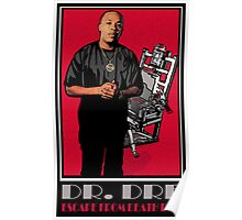 HIP-HOP ICONS: DR. DRE - ESCAPE FROM DEATH ROW Poster