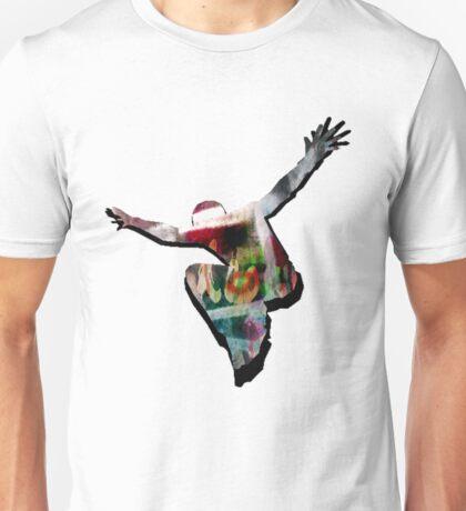 Freedom jump Unisex T-Shirt