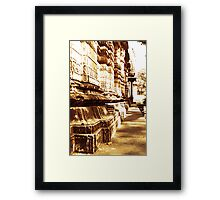 Indian-Temple-Architecture  Framed Print