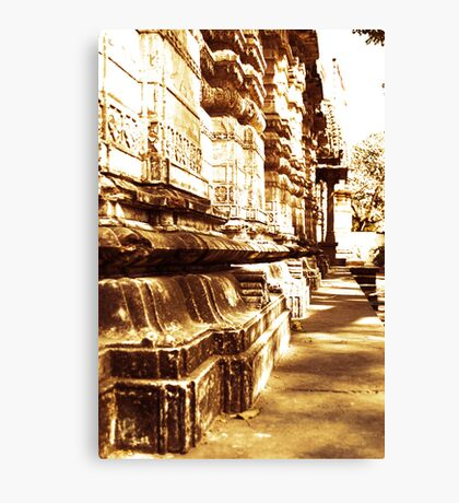 Indian-Temple-Architecture  Canvas Print