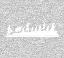 The Nine Walking One Piece - Long Sleeve