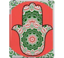 ethnic hamsa background iPad Case/Skin