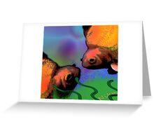 Nature. Fish Greeting Card