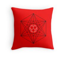 Dodecahedron special Throw Pillow